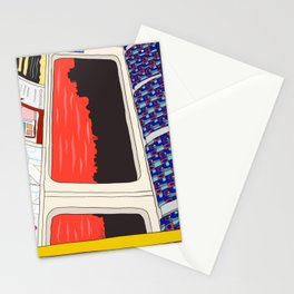 View from London Jubilee Line Stationery Cards