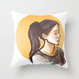 elementary: joan watson [2] Throw Pillow