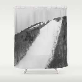 Ovation - the steepest trail in the East Shower Curtain