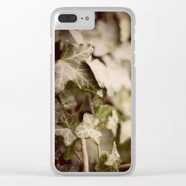 Trailing Ivy #1 Clear iPhone Case