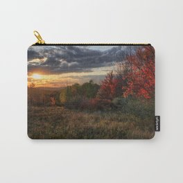 Fall in Upstate, New York Carry-All Pouch