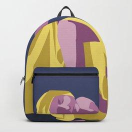 Death of a Marat Pop Art Backpack