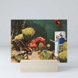 Under the Sea // Seahorses Mini Art Print