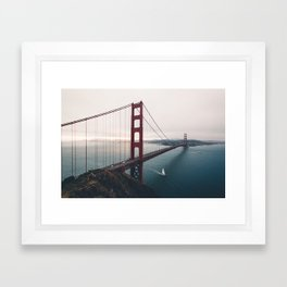 Golden Gate Bridge - San Francisco, CA Framed Art Print