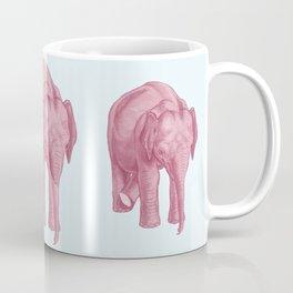 Pink elephants and the emperor of icecream Coffee Mug