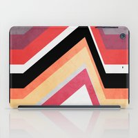 airplanes iPad Cases featuring geometric   by mark ashkenazi