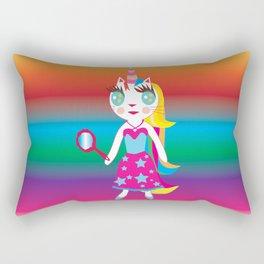 Wish cat Rectangular Pillow