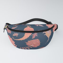 Paradise Patterns - Blue & Coral Fanny Pack