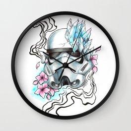 Storm - colors Wall Clock