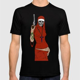 Skull nun T-shirt