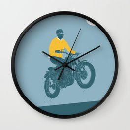 no guts no glory 2 Wall Clock