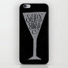 James Bond iPhone & iPod Skin