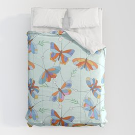 Insect art pattern Comforters