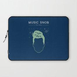 The Higher, The Fly-er — Music Snob Tip #074 Laptop Sleeve