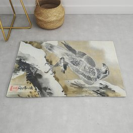 Eagle Holding Small Bird - Digital Remastered Edition Rug