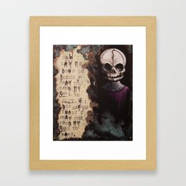 The Forgotten Ones by Macabre Framed Art Print