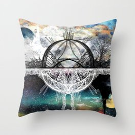 TwoWorldsofDesign Throw Pillow