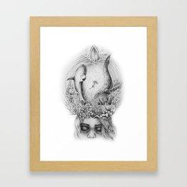 Ocean Dreaming Framed Art Print