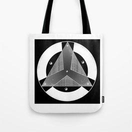 Insignia Organización Negativo Tote Bag