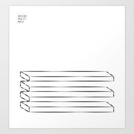 Jobstepps zur Vergessenheit Art Print