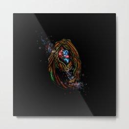 Enchanted Forest Magical Portal Metal Print
