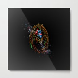 Enchanted Forest Magical Portal Metal Print