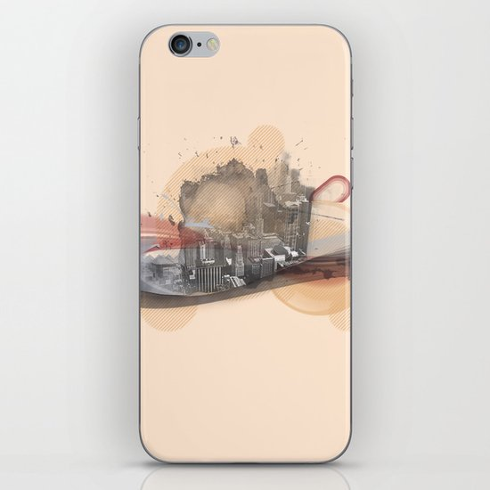 Our City is Dead iPhone & iPod Skin