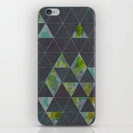 Reverse Triangles iPhone Skin