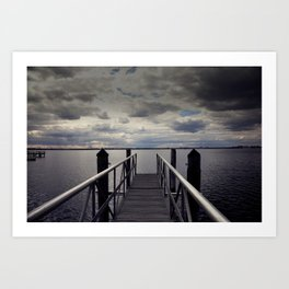 Long walk short pier Art Print