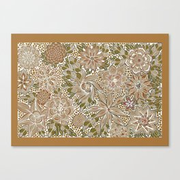The Golden Mat Canvas Print