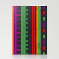 mexican Stationery Cards featuring Mexican Pattern by rusanovska