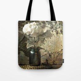 Vintage Mercury Jars Tote Bag