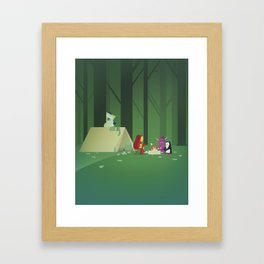 The Nick Yorkers in July Framed Art Print
