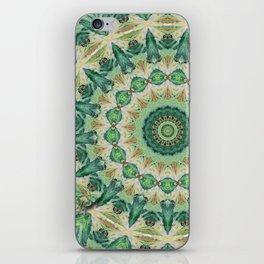 Luna Moth Kaleidoscope iPhone Skin