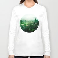 brooklyn Long Sleeve T-shirts featuring Brooklyn by Claire Beaufort