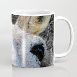 Watercolor Wild Donkey 02, St John, USVI, HI! In Your Face Coffee Mug