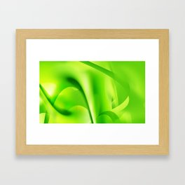 Emerald Dreams Framed Art Print