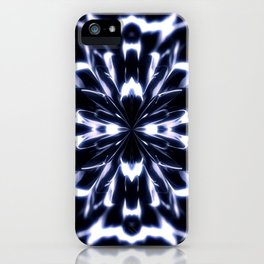 Geometric background with symmetrical figures. iPhone Case