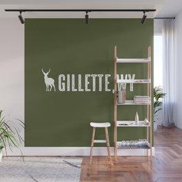 Deer: Gillette, Wyoming Wall Mural