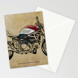 2019 Monster 1200 25° Anniversario Stationery Cards
