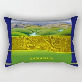 The Lie of the Land: Tararua Rectangular Pillow