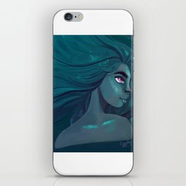 Blue is the warmest colour iPhone Skin