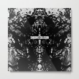 Chief - Shadows Collision Metal Print
