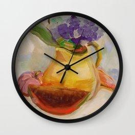 Kitchen Bouquet Wall Clock