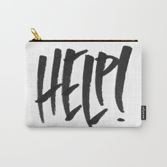 HELP! Carry-All Pouch