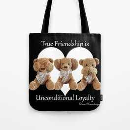 Teddy & Lily Tote Bag