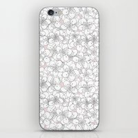 Cherry Blossom Pink Blocks iPhone & iPod Skin