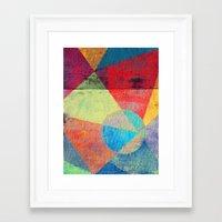 volleyball Framed Art Prints featuring Beach Volleyball by Fernando Vieira