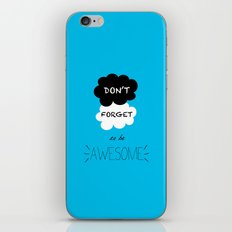 DFTBA TFIOS Nerdfighter Vlogbrothers Don't Forget to be Awesome, The Fault in Our Stars, John Green iPhone & iPod Skin