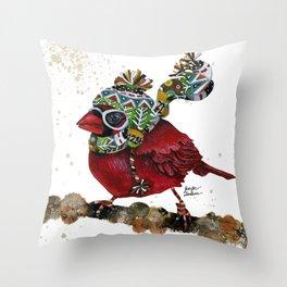 Cardinal Blaze 3 Throw Pillow